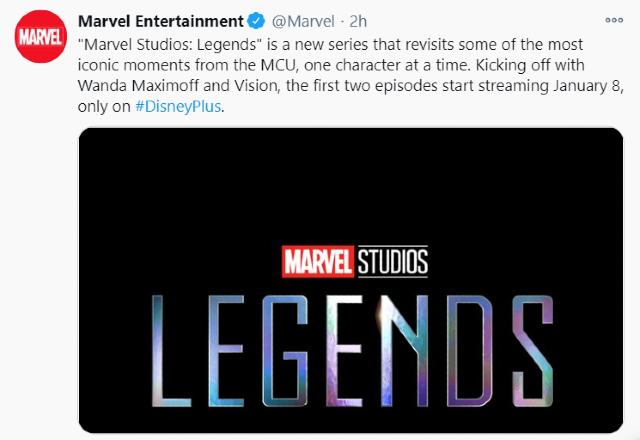 Marvel anuncia Legends por Disney+