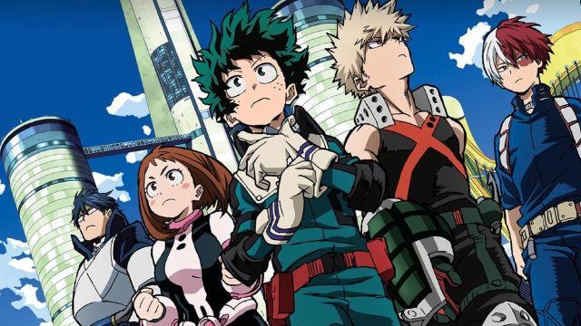 My Hero Academia confirma la fecha de estreno de su quinta temporada
