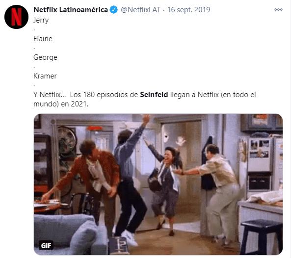 Netflix se despide de Friends y llegan otros contenidos