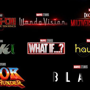 Logos de películas y series de Marvel Studios