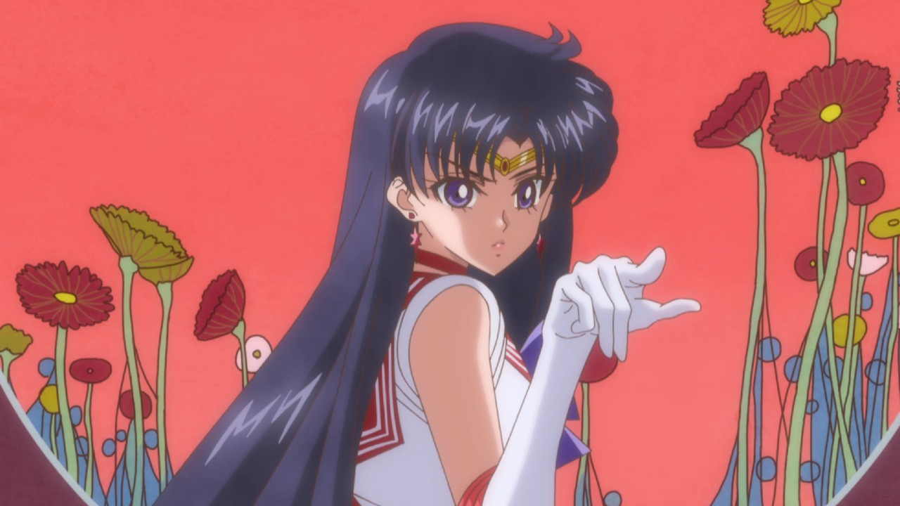 Sailor Moon_ Artista convierte a la poderosa Sailor Mars en sirena a través de un fan art (1)