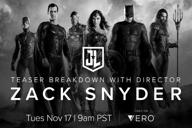 Snyder Cut de Justice League podría estrenarse en cines
