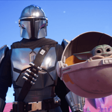 Baby Yoda y Mandalorian en Fornite