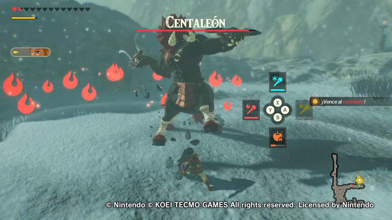 Hyrule Warriors Age of Calamity Centaleones