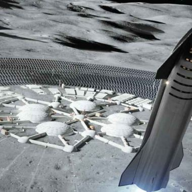 colonia lunar spacex