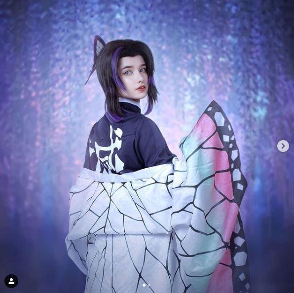cosplay shinobu kocho kimetsu no yaiba