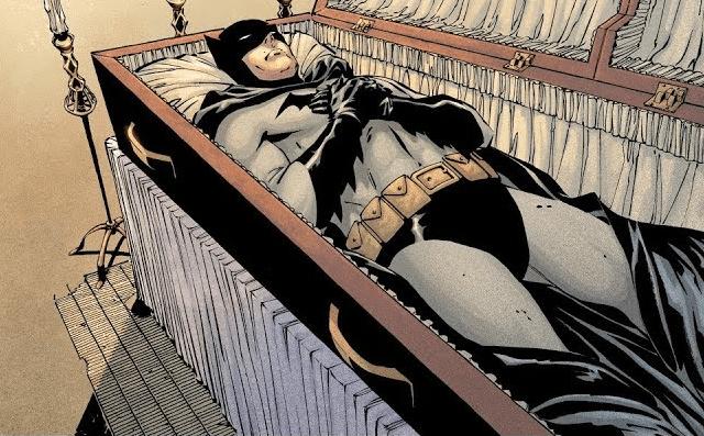 Batman Paladín encapotado
