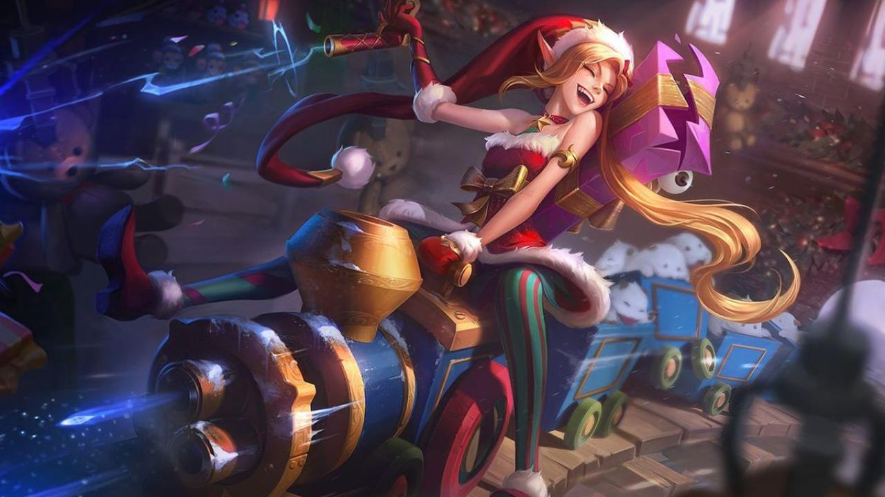 jinx lol navidad