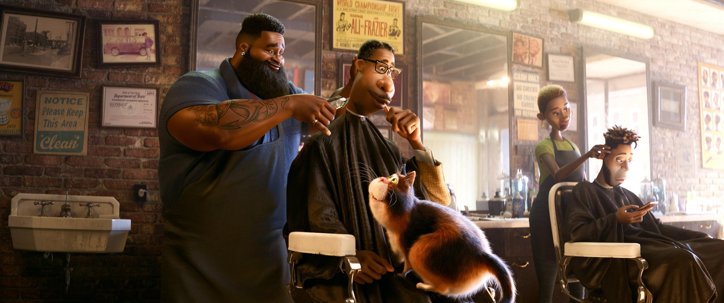 soul disney peluquería