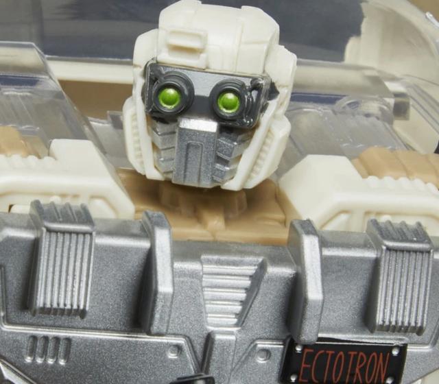 Ectotron ya convertido en robot (Hasbro).