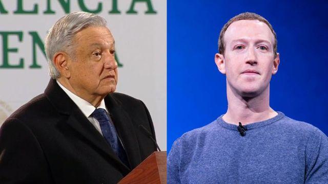 AMLO criticó a Mark Zuckerberg por el veto a Donald Trump