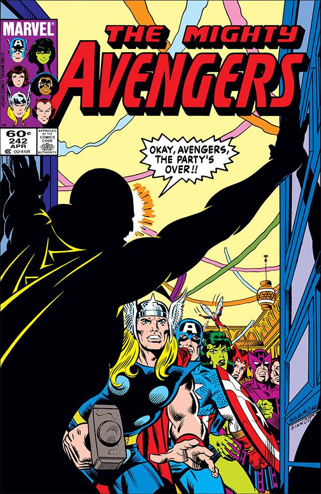 Comic Avengers 242