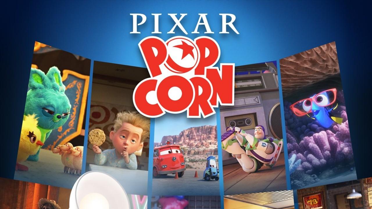 Disney+ estrena los cortos de Pixar Popcorn