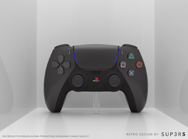 DualSense de PS5 inspirado en el PS2