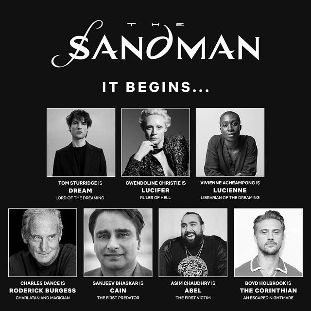 Elenco de The Sandman