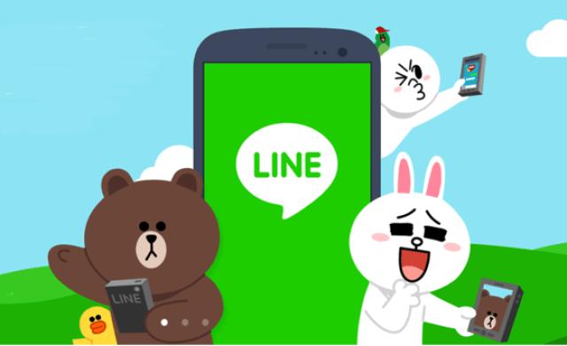 LINE app de mensajería