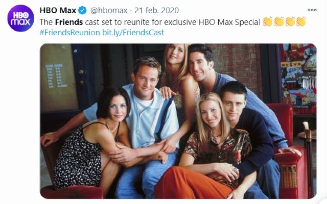 Lisa Kudrow dice que ya rodó algunas escenas de reunión de Friends