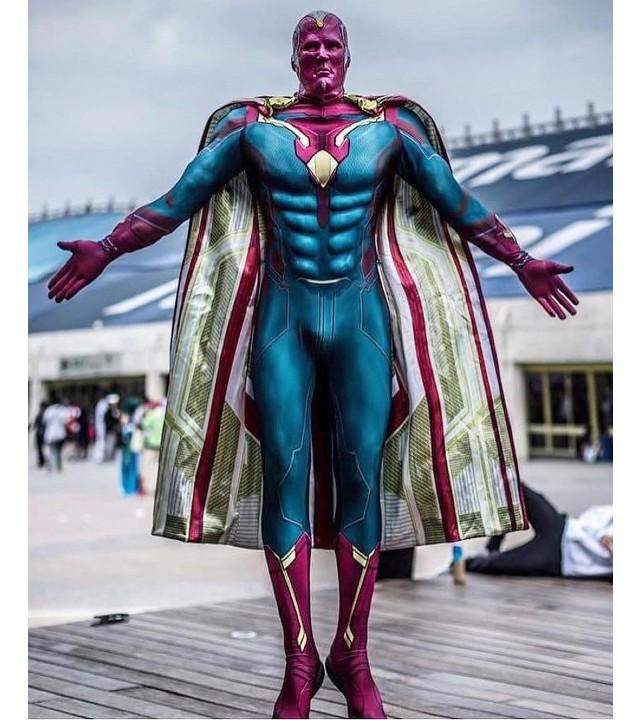 Marvel: Este es el mejor cosplay de Vision que podrás encontrar