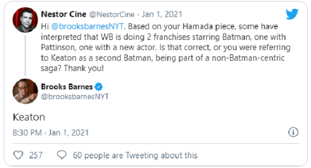 Michael Keaton no será Batman en el DCEU