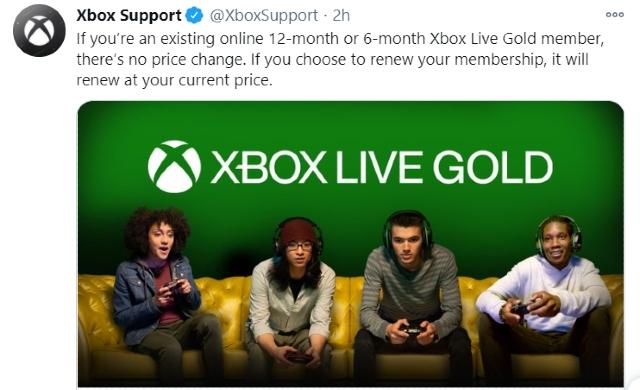 Xbox Live Gold aumenta el precio de su membresía