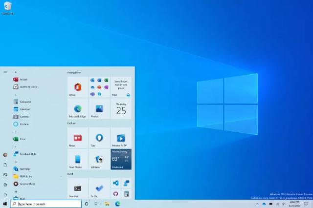Windows 10 tendrá cambios estéticos en 2021