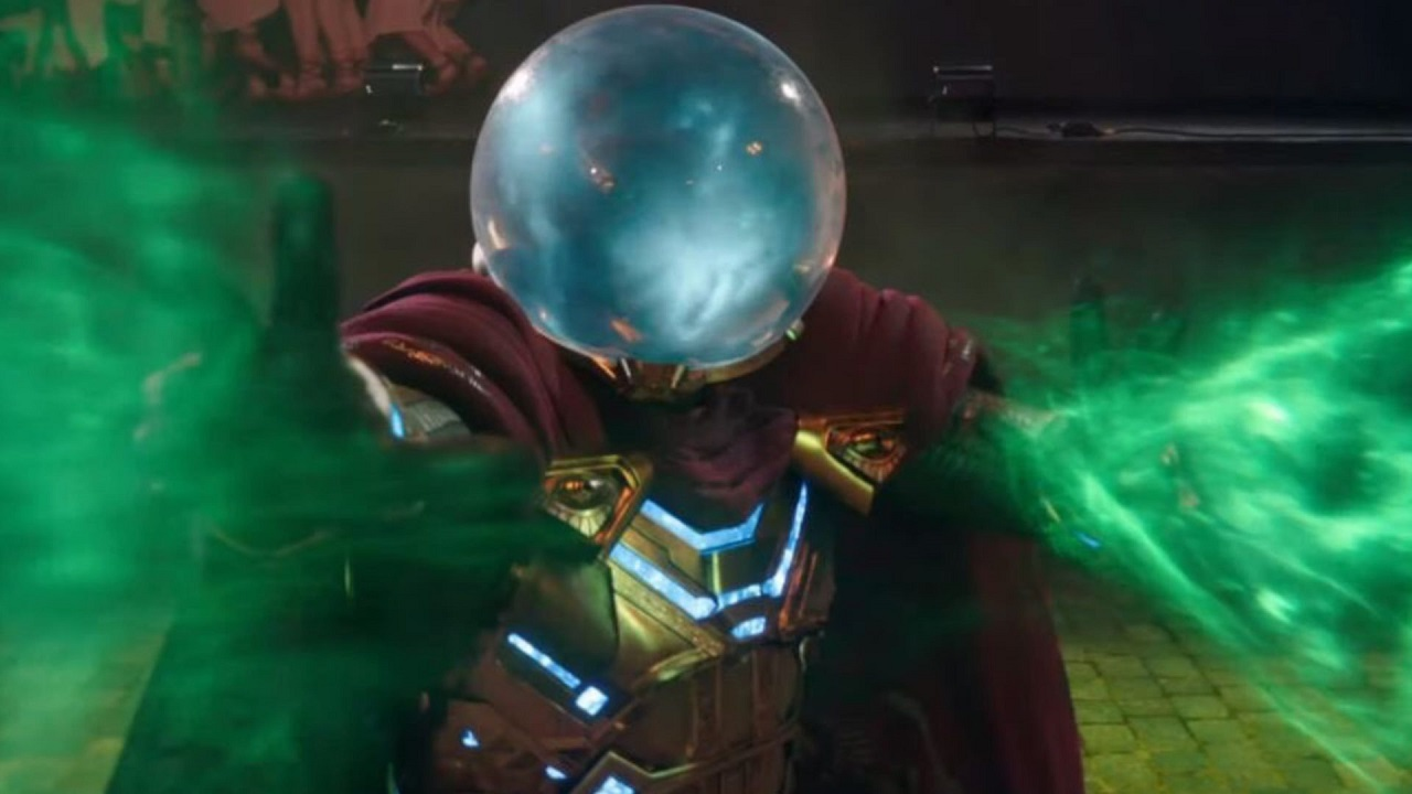 Mysterio en Spider-Man Far From Home