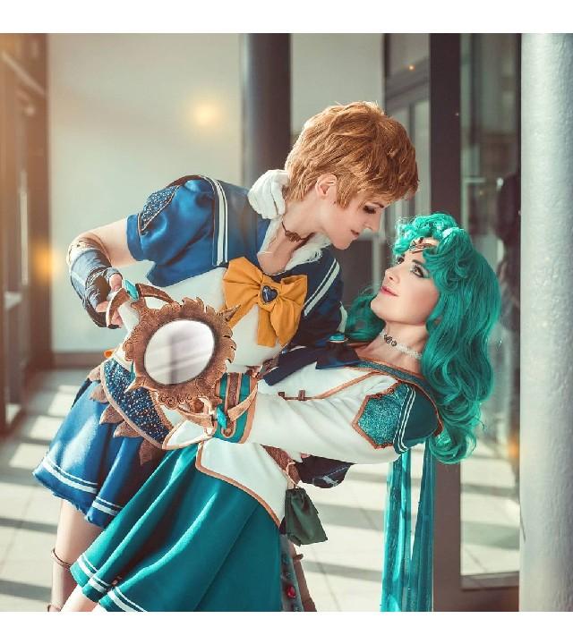 Pareja de chicas recrean a la perfección a Sailor Uranus y Sailor Neptune