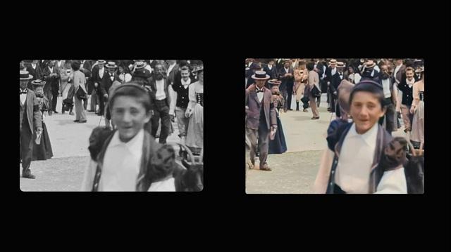 Artista restaura películas de los Lumière en 4K