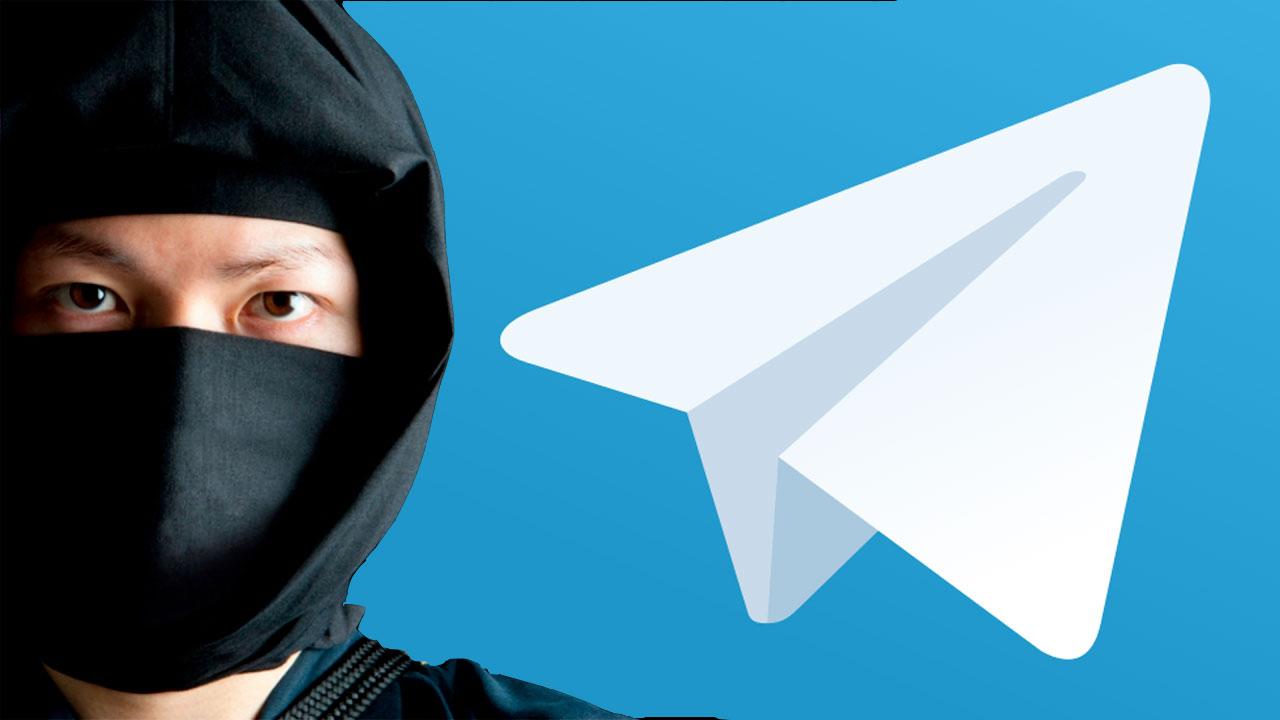 Telegram modo invisible
