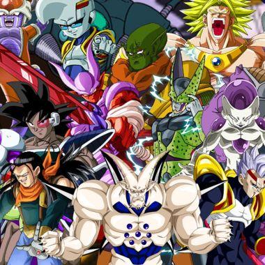 Todos los Villanos de Dragon Ball