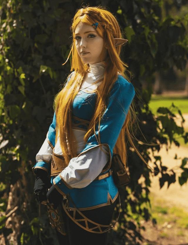 Cosplay Zelda en Breath of the Wild