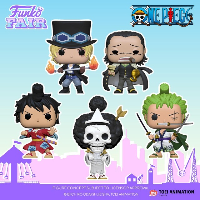One Piece Funko Fair 2021