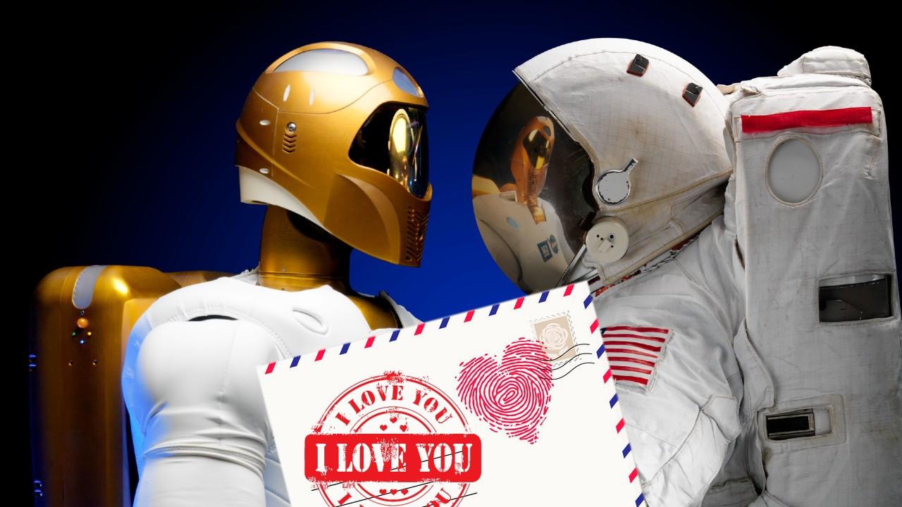1000 cartas de amor viajarán al espacio para pasar 6 meses en la Estación Espacial