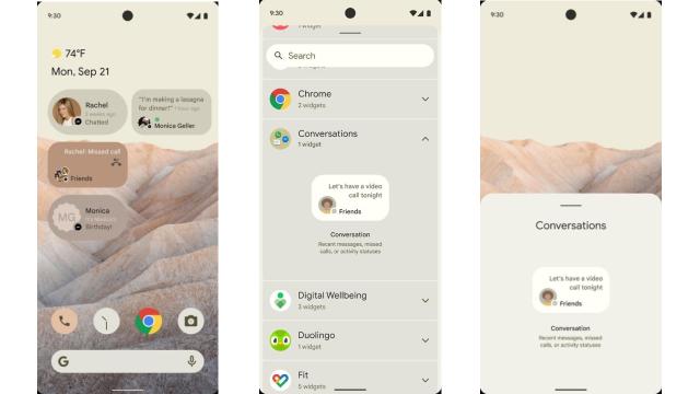 Se filtran primeras imágenes de Android 12