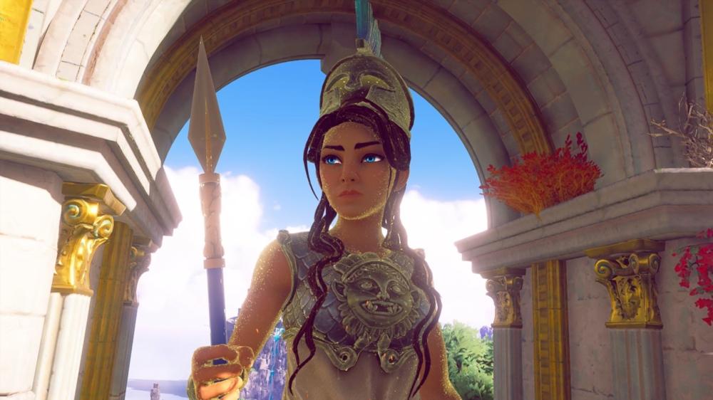 Atenea, Immortals Fenyx Rising