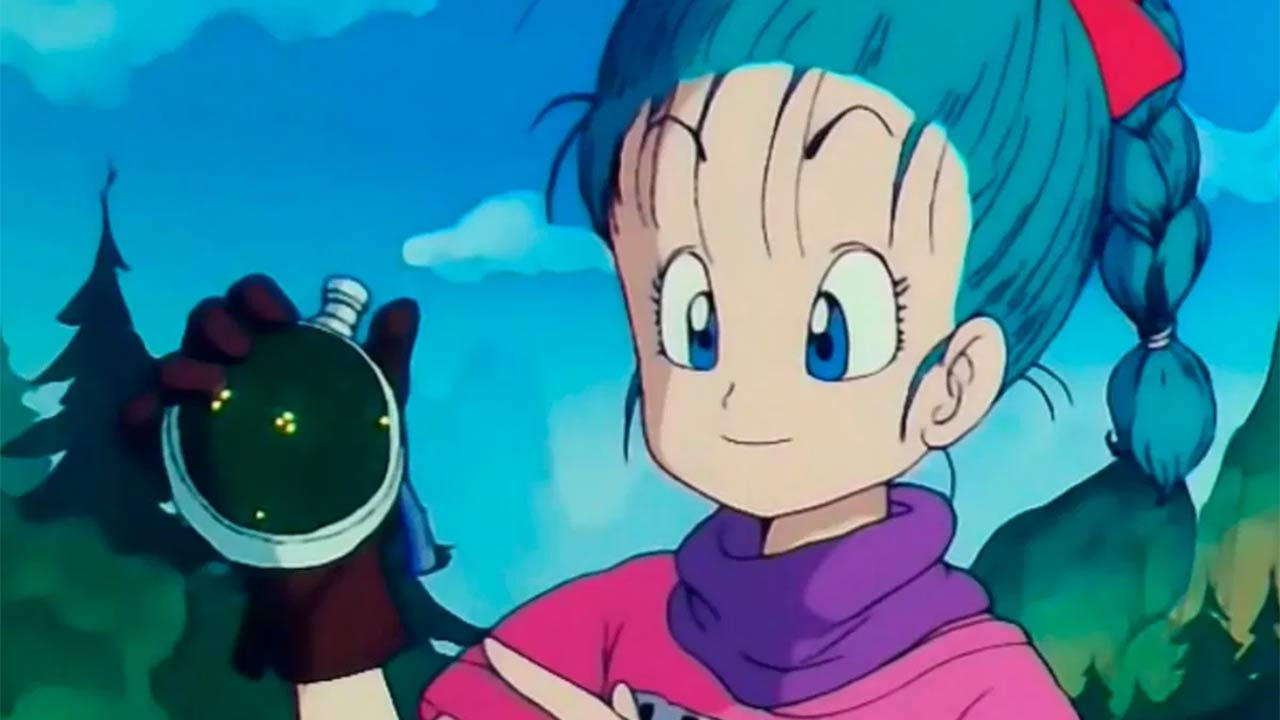 Bulma primera aparición en Dragon Ball