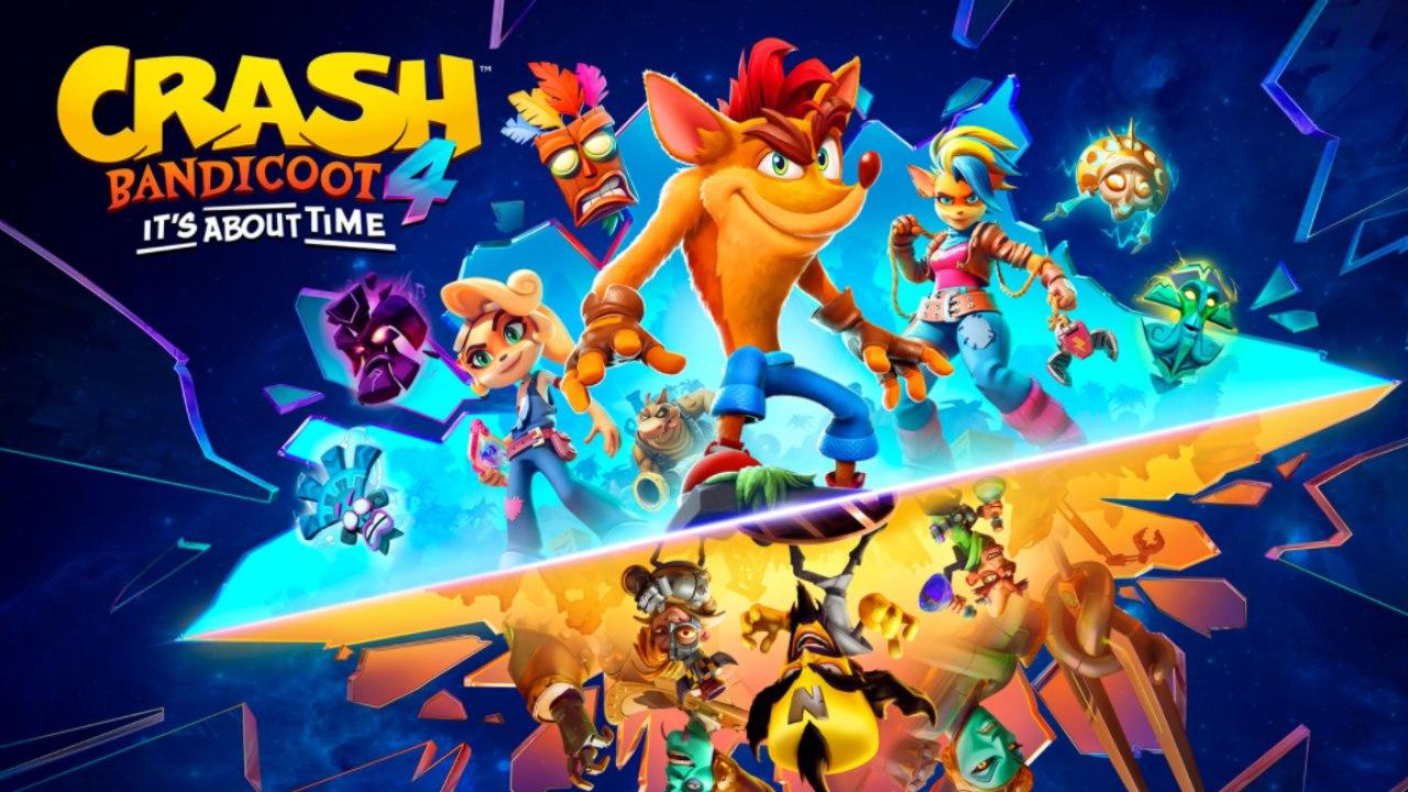 Crash Bandicoot 4 llegará el 12 de marzo a PS5 y Xbox Series