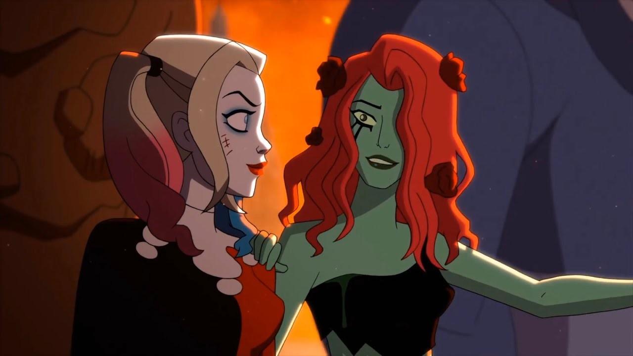 DC Comics_ Cosplayers le dan vida a Harley Quinn y Poison Ivy (2)