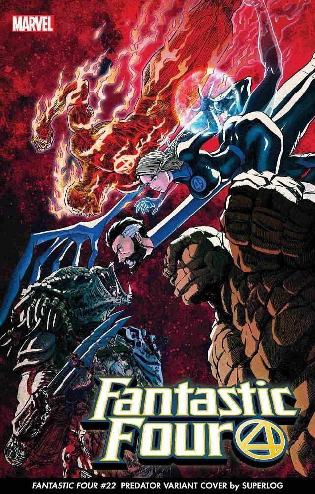 Depredador contra los Cuatro Fantásticos
