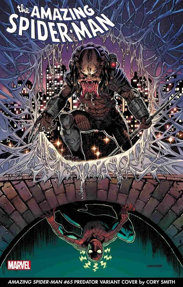 Depredador contra Spider-Man