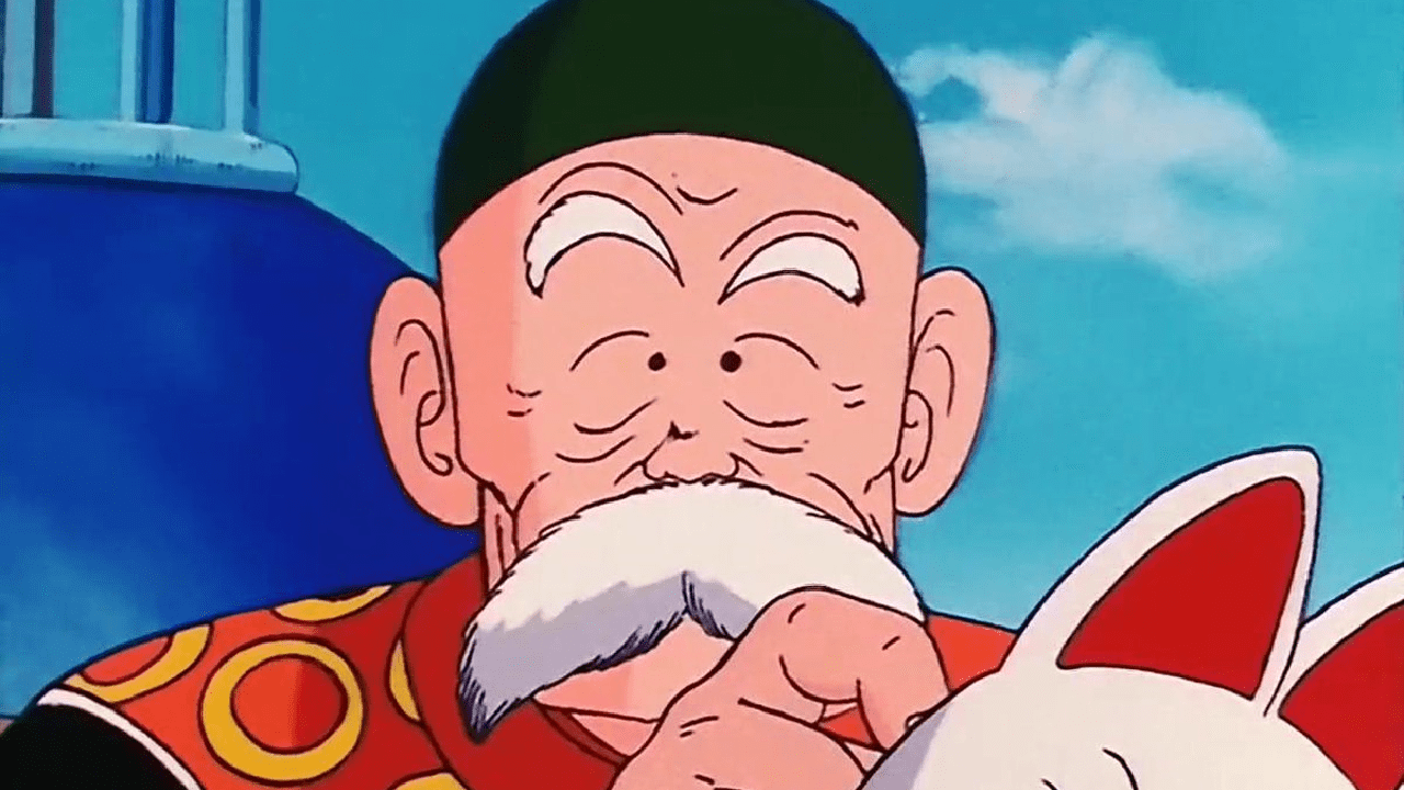 abuelo gohan dragon ball toei animation