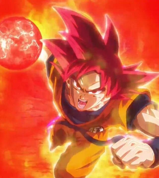 dragon ball goku super sayajin dios