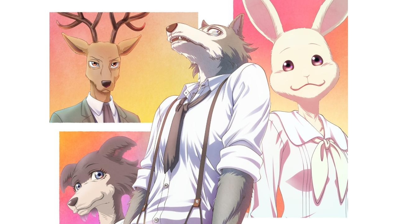 Fan Art imagines the main characters of Beastars in their human version