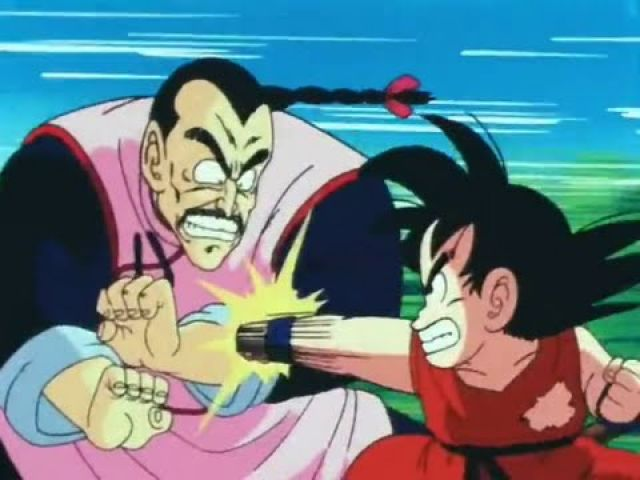 Goku vs Tao Pai Pai