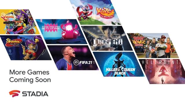 Google Stadia anuncia 100 juegos para 2021
