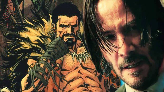 Keanu Reeves Kraven the Hunter