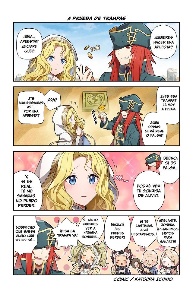 Manga de Fire Emblem Heroes