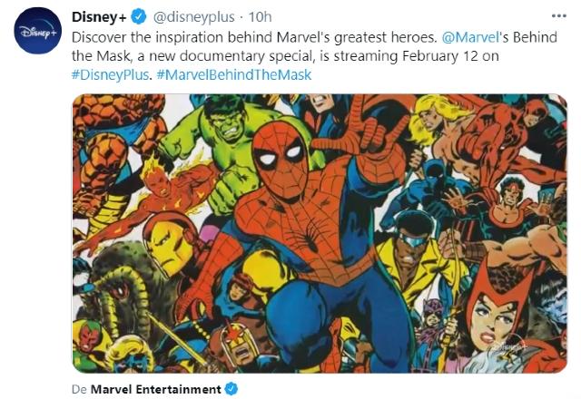 Marvel's Behind the Mask se estrenará en Disney+ el 12 de febrero