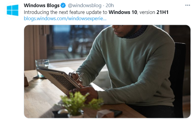 Microsoft revela detalles de la versión 21H1 de Windows 10