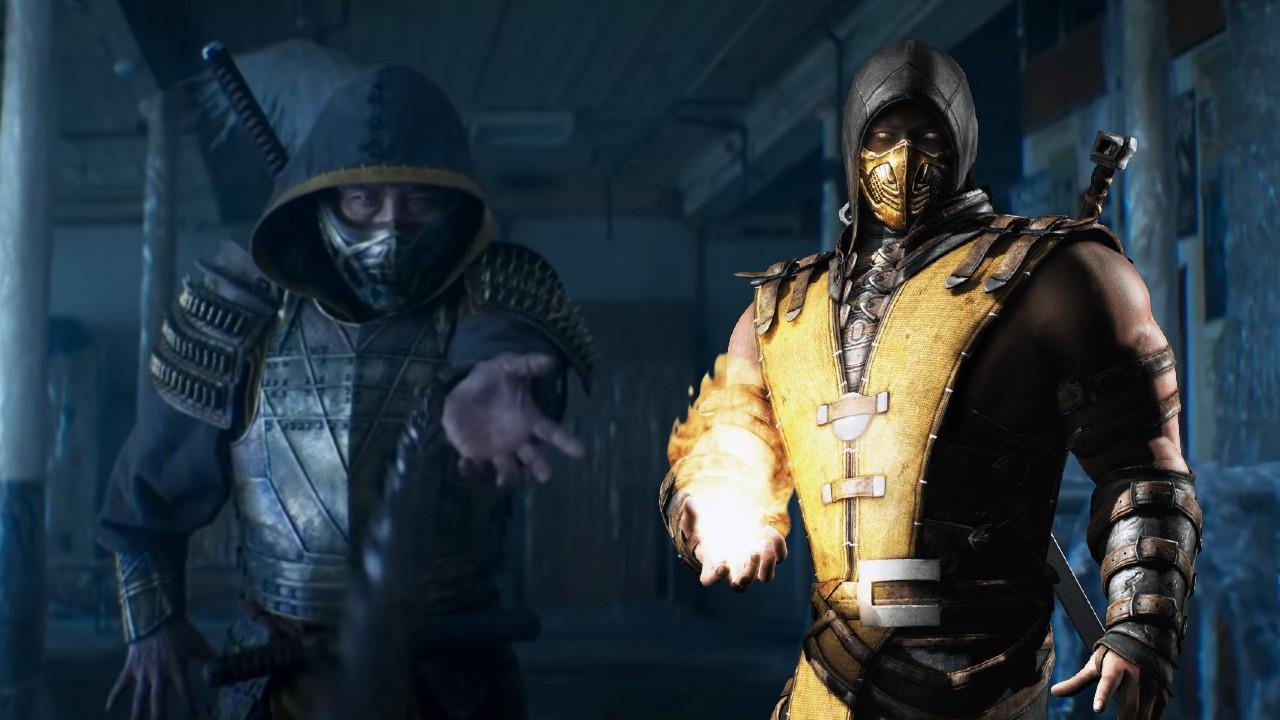 scorpion mortal kombat pelicula 2021 warner bros fatality
